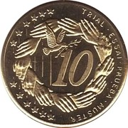 10 (Poland Euro Fantasy Token) – reverse