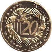 20 (Poland Euro Fantasy Token) – reverse