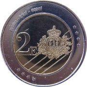 2 E (San Marino Euro Fantasy Token) – reverse