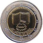 2 E (San Marino Euro Fantasy Token) – obverse
