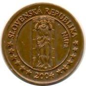 5 Cent (Slovakia Euro Fantasy Token) – obverse