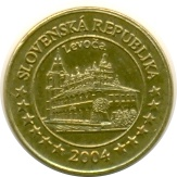 10 Cent (Slovakia Euro Fantasy Token) – obverse