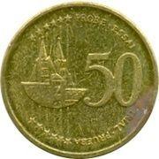 50 Cent (Slovakia Euro Fantasy Token) – reverse