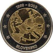 2 (Slovakia Euro Fantasy Token) – obverse