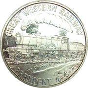 1 oz silver (President 4-4-2) – obverse