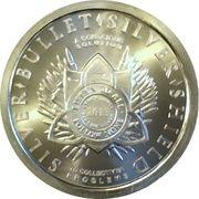 1 oz silver (Silver Bullet Silver Shield - Argyraspides) – obverse