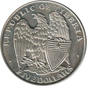 5 Dollars (The Attack on Pearl Harbor) – obverse