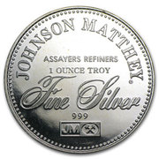 1 oz silver (Johnson Matthey - The Right To Counsel) – reverse