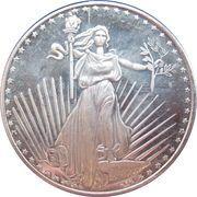 1 oz silver (Standing Liberty) – obverse