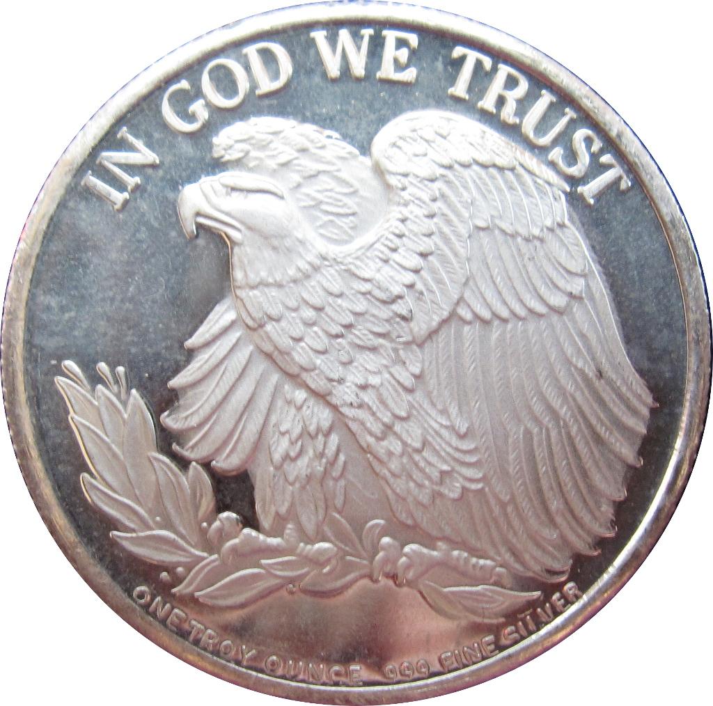 1 Oz Silver Standing Liberty Exonumia Numista