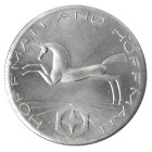 1 oz silver (Hoffman and Hoffman) – obverse