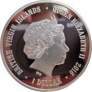 1 Dollar - Elizabeth II (Swans) – obverse