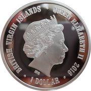 1 Dollar - Elizabeth II (Long-Eared Hedgehog) – obverse