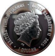 1 Dollar - Elizabeth II (Meerkats) – obverse