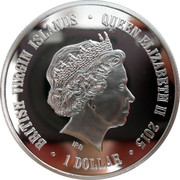 1 Dollar - Elizabeth II (Orangutan) – obverse