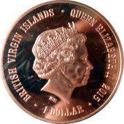 1 Dollar - Elizabeth II (Sibir Hockey Club) – obverse