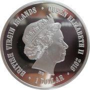 1 Dollar - Elizabeth II (I Am Sibir) – obverse