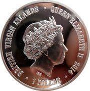 1 Dollar - Elizabeth II (Liger) – obverse