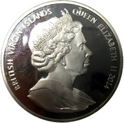 1 Dollar - Elizabeth II (Papal Visit) – obverse
