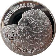 1 Dollar - Elizabeth II (Snow Leopard) – reverse