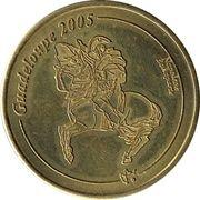 10 Cent (Guadeloupe Euro Fantasy Token) – obverse