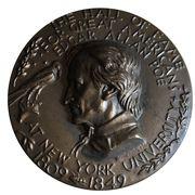 Medal - Hall of Fame for Great Americans (Edgar Allen Poe) – obverse