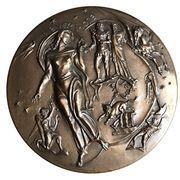 Medal - Hall of Fame for Great Americans (Edgar Allen Poe) – reverse