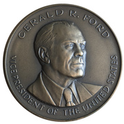 Medal - Gerald R. Ford, Vice President – obverse