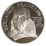Medal - Ben Franklin FIrefighters – obverse