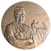Medal - Dr. Michael E. DeBakey, M.D. – obverse