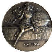 Medal - Delta Airlines (Boeing 727) – obverse
