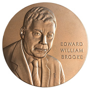 Medal - Edward William Brooke – obverse