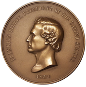 Medal - Franklin Pierce (President of the United States) – obverse