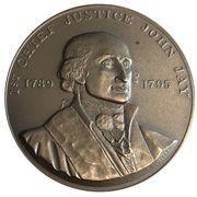 Medal - Chief Justice John Jay – obverse
