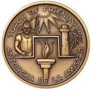 Medal - Greater Miami Bicentennial (Miami, Florida) – reverse