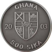 500 Sika (Convex - Wrestler) – obverse
