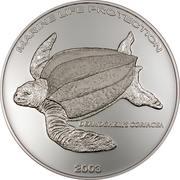 500 Sika (Leatherback Turtle) – reverse