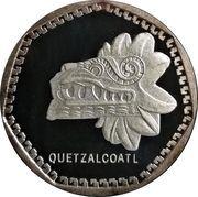 1 oz Silver (Quetzalcoatl Viva Mexico) – obverse