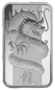 1 oz Silver (PAMP - Year of the Dragon) – obverse
