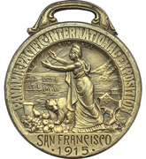 Medal - Panama-Pacific International Exposition – obverse