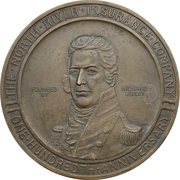 Medal - North River Insurance Company – obverse