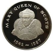 Medal - Queens of the British Isle (Mary Queen of Scots) -  obverse