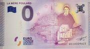 0 euro (La Mère Poulard) – obverse