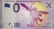 0 euro - Abbaye du Mont-Saint-Michel (L'Archange) – obverse