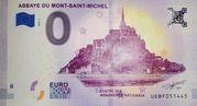 0 euro (Abbaye du Mont-Saint-Michel) – obverse