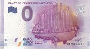 0 euro (Canot de l'empereur Napoléon 1er) – obverse