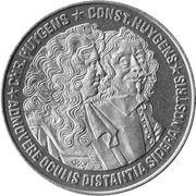 2½ ECU - BEATRIX (Chr. Huygens -1629/1695- & Const. Huygens -1596/1687-) -  reverse