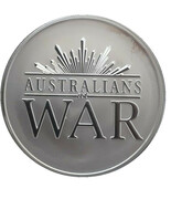 1 oz Silver (Australians at War) – reverse