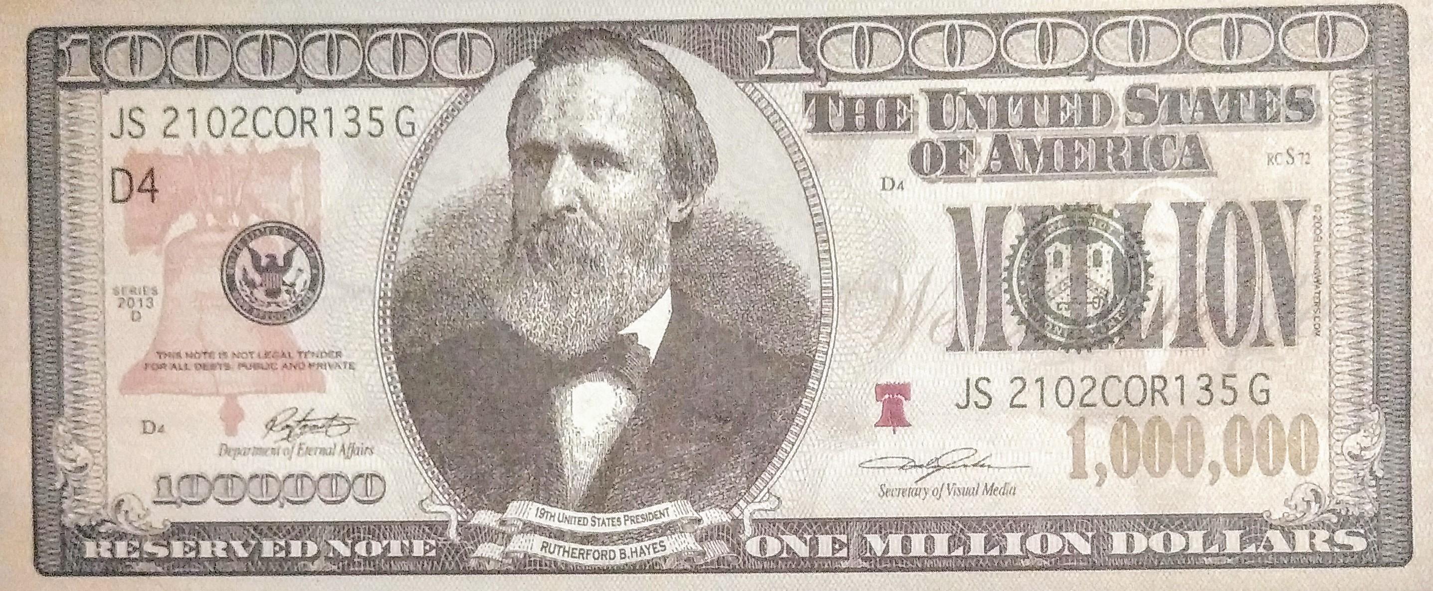 MILLION Dollar Bill Rutherford Note