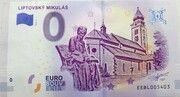 0 euro (Liptovský Mikuláš) – obverse